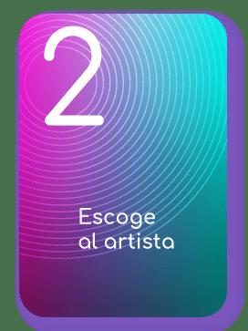 Escoge al artista